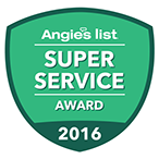 Angiest List Service Award in Columbus Ohio