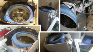 Damage caused by defective Samsung washing machines